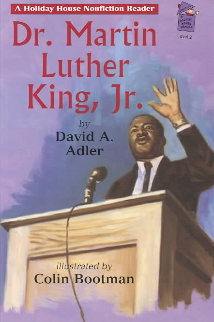 Dr. Martin Luther King, Jr By Adler, David A./ Bootman, Colin (ILT)